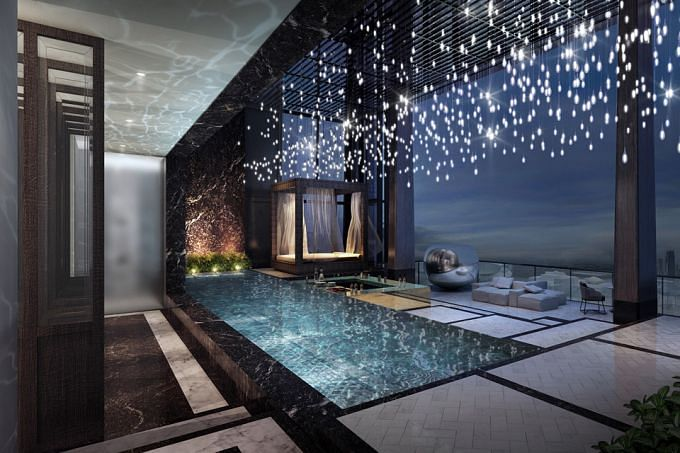 108 Million For This Super Penthouse In Tanjong Pagar
