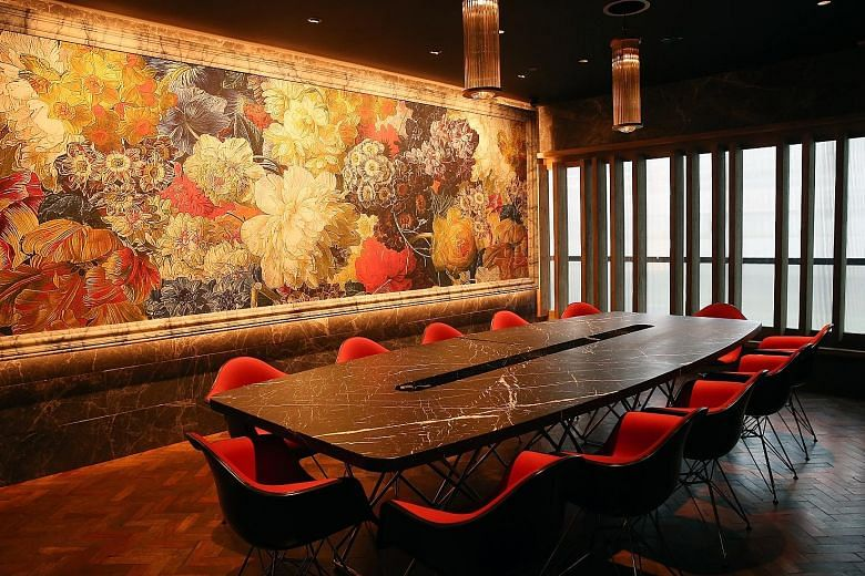 Designer interiors for new private members' club