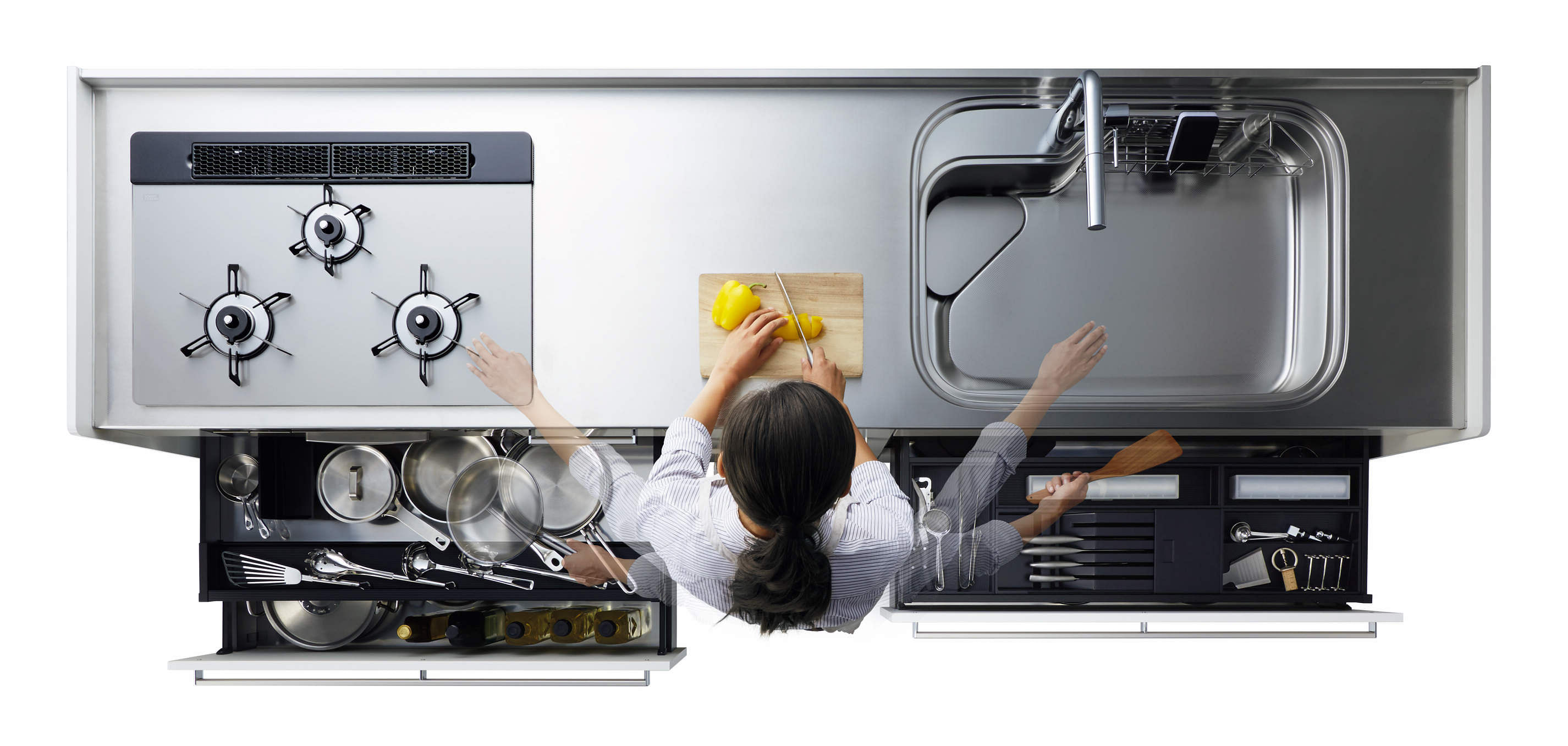 Increase Storage In Your Kitchen With The Right Mix Of