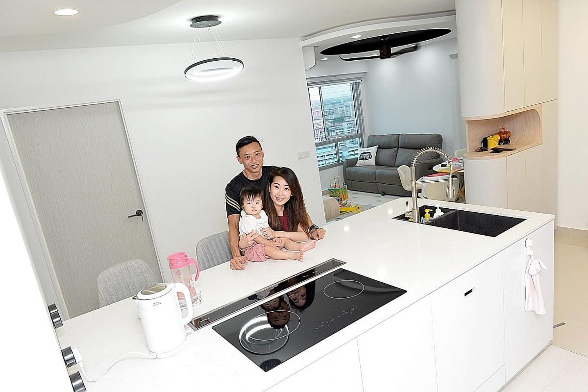 4 homeowners share their experiences with open concept kitchens home decor singapore