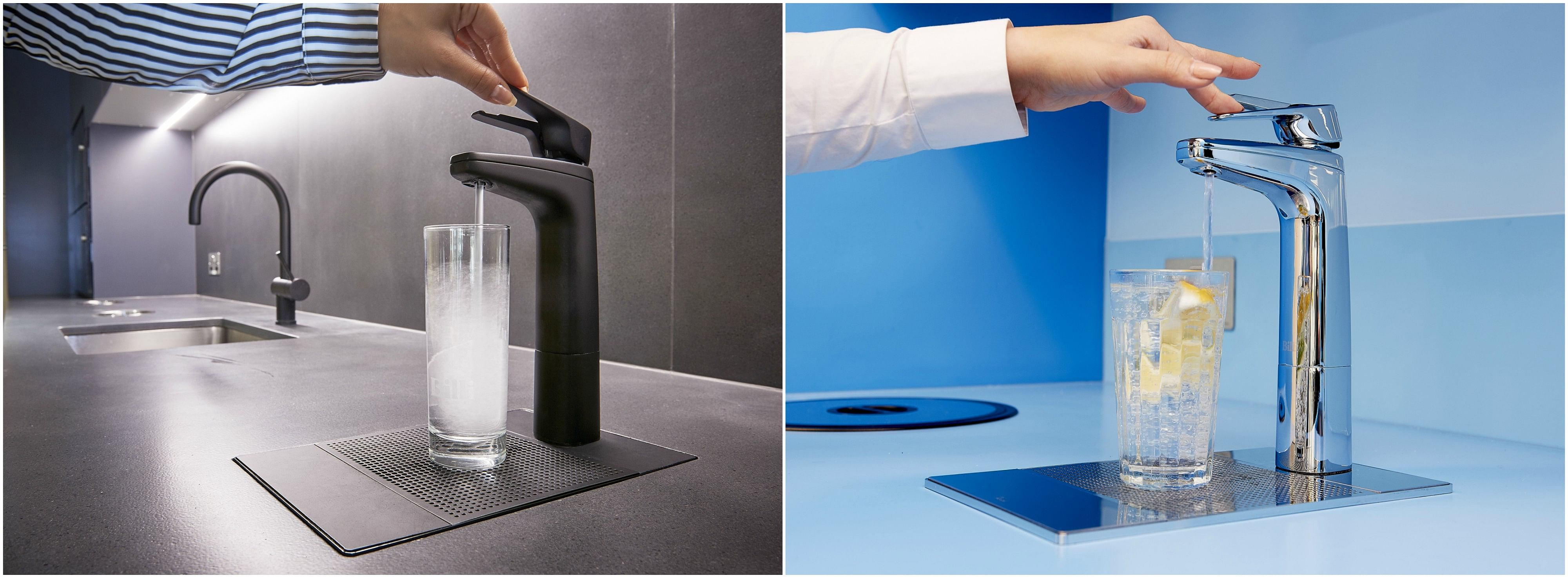 This under-counter water filtration system gives you instant boiling ...