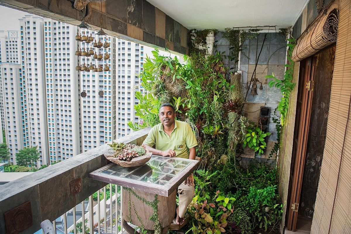 A Balcony Is All You Need To Grow A Lush Garden As These