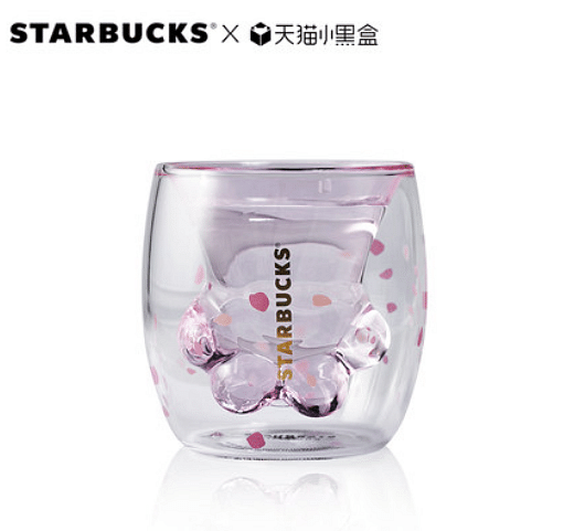buy this infamous starbucks cat paw cup online now home decor singapore. Black Bedroom Furniture Sets. Home Design Ideas