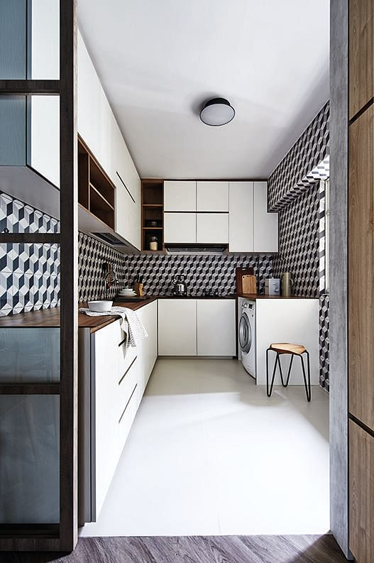 Kitchen Backsplash Singapore 7 eye-catching kitchen backsplashes that you'll never get bored of