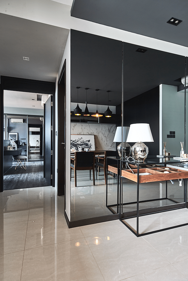House Tour Dark And Masculine Three Bedroom Apartment For