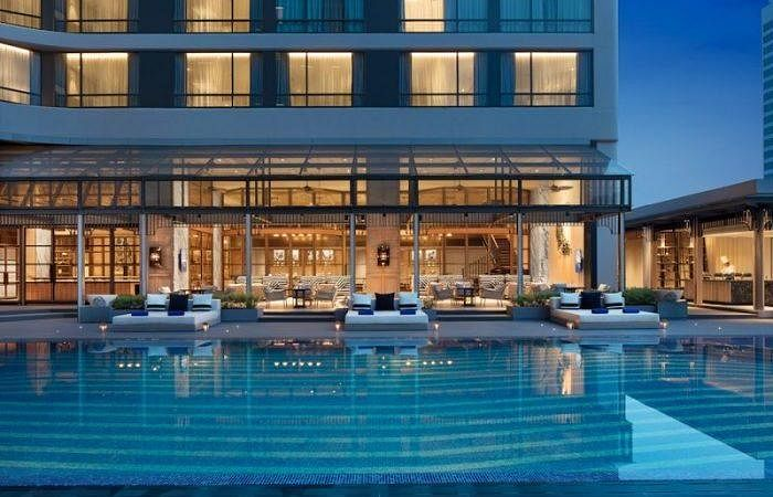luxury hotels in asia Bangkok marriott marquis