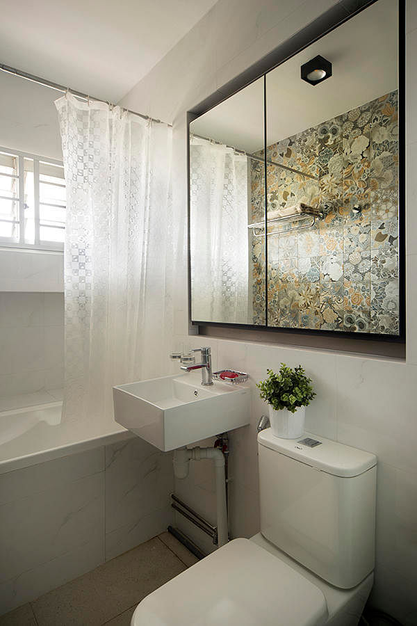 Bathroom Design Ideas: 7 Simple Contemporary HDB Flat