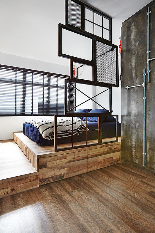 7 reno ideas in the bedrooms of hdb flat homes home for Hdb balcony design