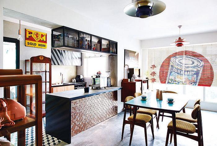 10 Small Space Open Concept Kitchen Designs Home Decor Singapore