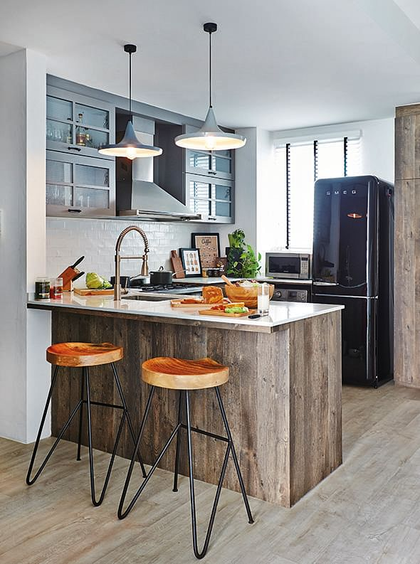 48 Smallspace Openconcept Kitchen Designs Home Decor Singapore Gorgeous Small Open Kitchen Design
