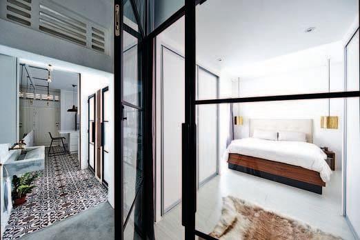 bedroom design ideas open concept bedrooms with glass panel doors 4 - Open Bedroom Design