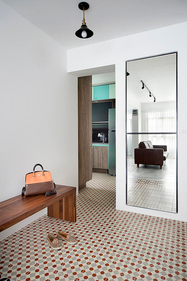 6 design ideas for doing up your hdb flat entrance area for Foyer designs flats