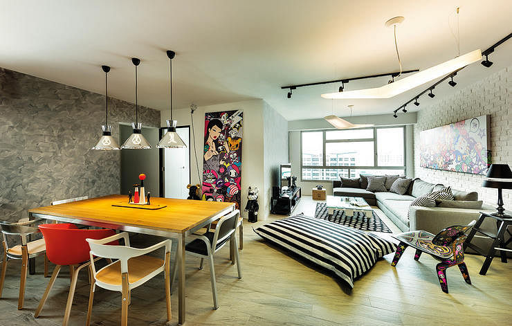 Here's What 4848 Renovation Can Do For Your HDB Flat Home Adorable Apartment Design Remodelling