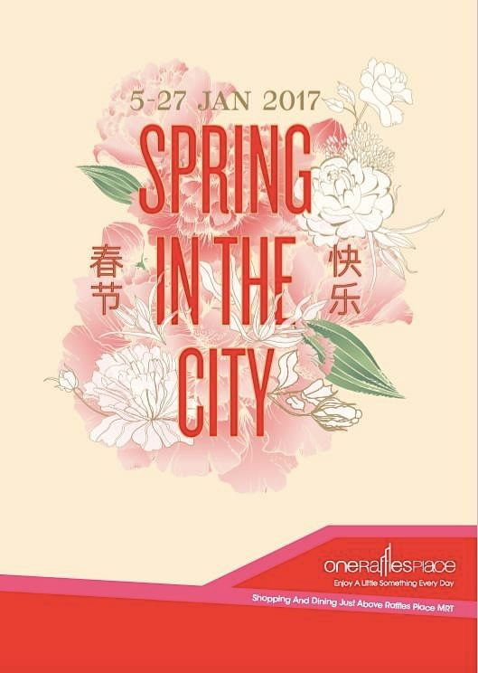 One Raffles Place, Spring in the City