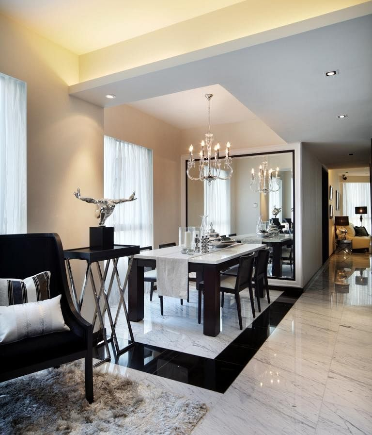 8 stylish homes with marble floors | Home & Decor Singapore