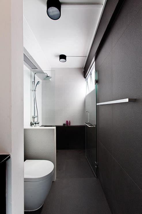 Bathroom Design Ideas 8 Minimalist Spaces In Hdb Flat