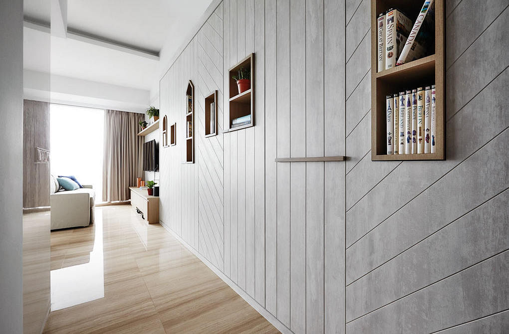 Foyer Design Hdb : Ways to include storage space in an apartment foyer home