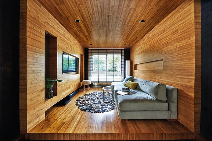 Living room design ideas 7 contemporary storage feature - Images of living room decor ...