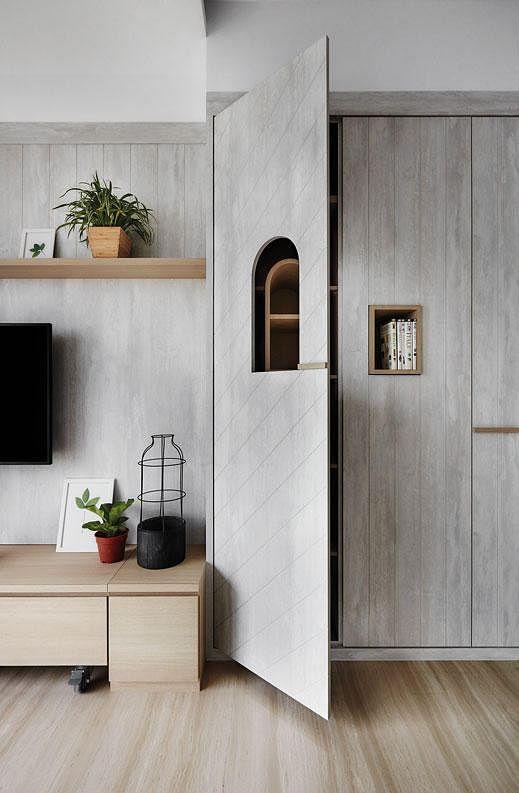Living room design ideas: 7 contemporary storage feature walls ...
