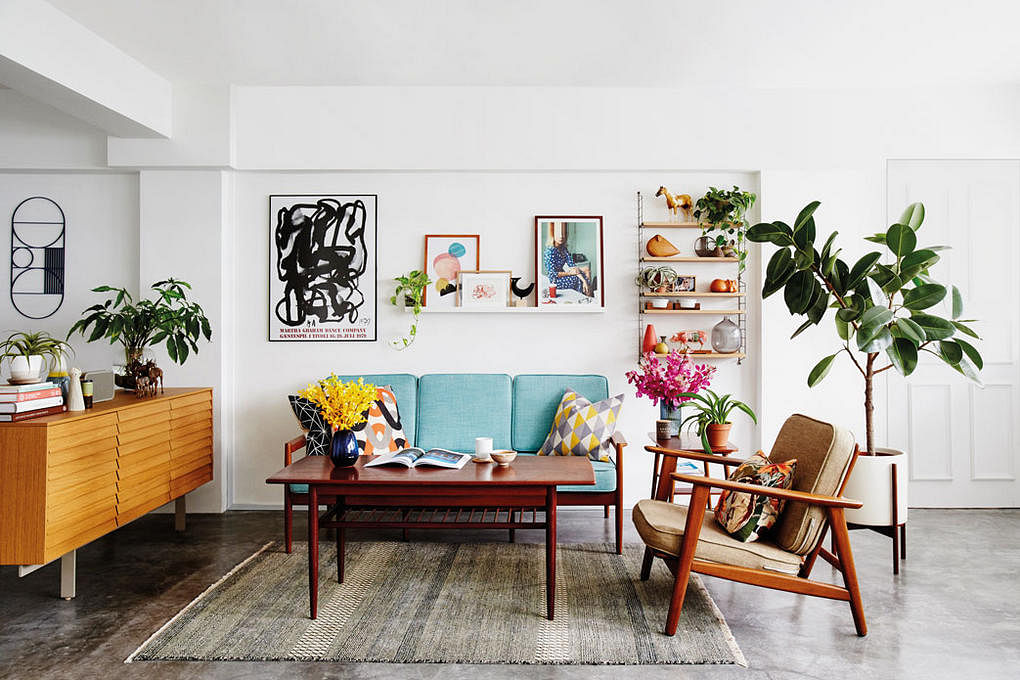 House tour 30 000 reno cost for this art filled for Scandinavian design reno