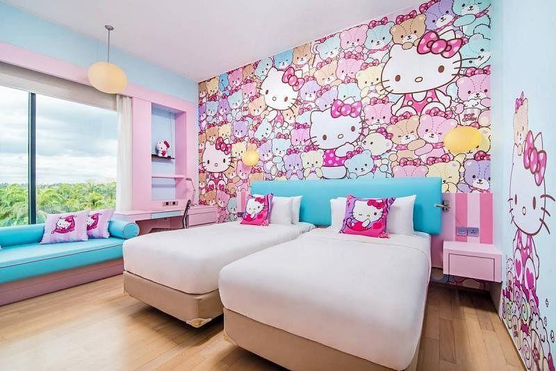 Hello Kitty Themed Hotel Opens In Johor Home Decor