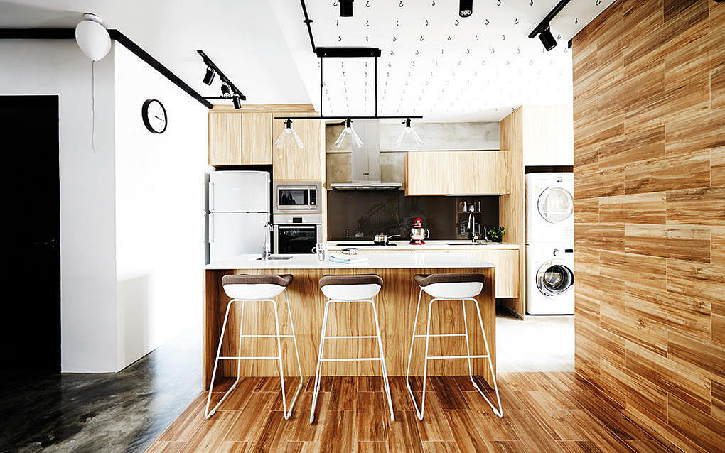 Kitchen Design For Hdb Flat kitchen design ideas: 10 simply stylish wood-tone hdb flat