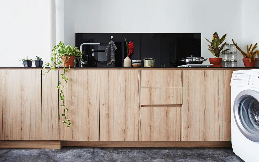 Kitchen design ideas: 10 simply stylish wood-tone HDB flat kitchens 1