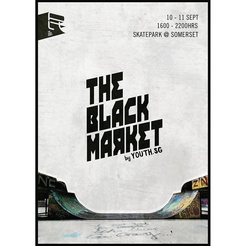 6 black market by local people