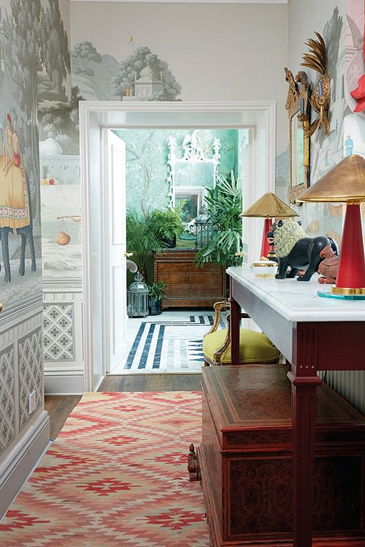 House Tour Clever Use Of Wallpapers In This Vibrant