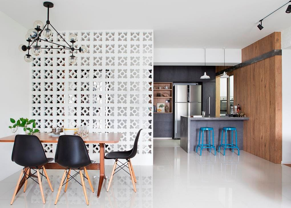 Dining room design ideas 10 open concept spaces in modern for Dining area interior design