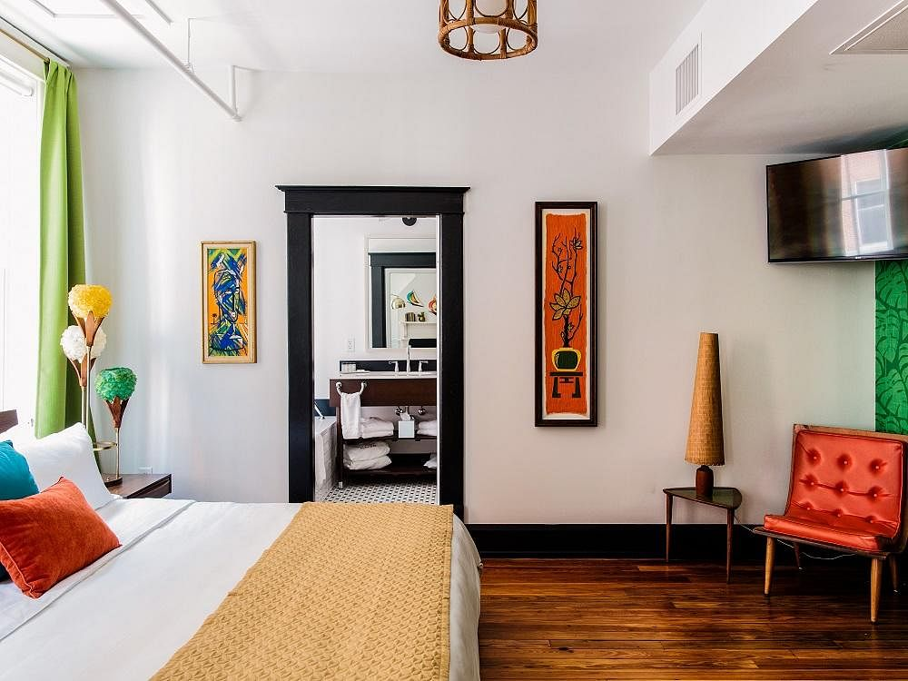 Check Out These Retro Mid Century Modern Hotel Rooms Home Amp Decor Singapore