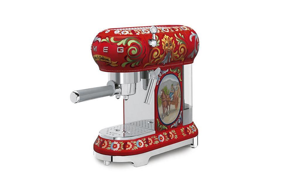 To Die For: Smeg X Dolce & Gabbana kitchen appliances