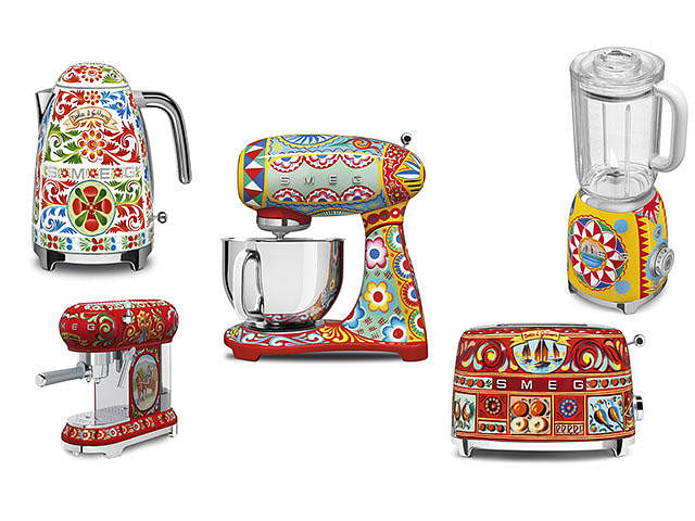 To Die For Smeg X Dolce Amp Gabbana Kitchen Appliances
