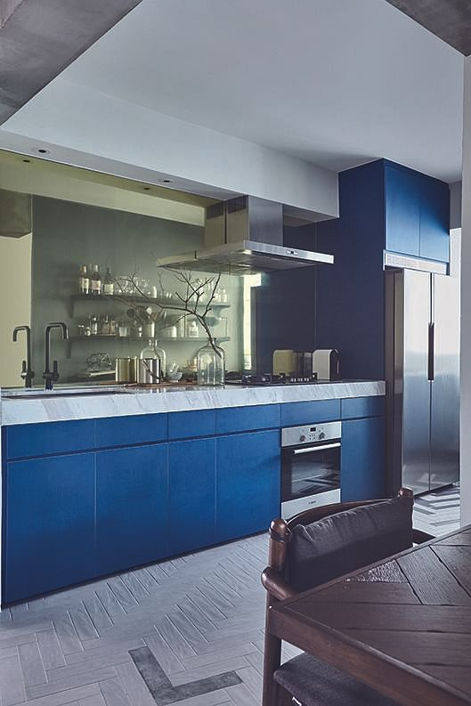 Virtual Kitchen Design Hdb Singapore: House Tour: $80,000 Renovation For This Chic And Edgy Four
