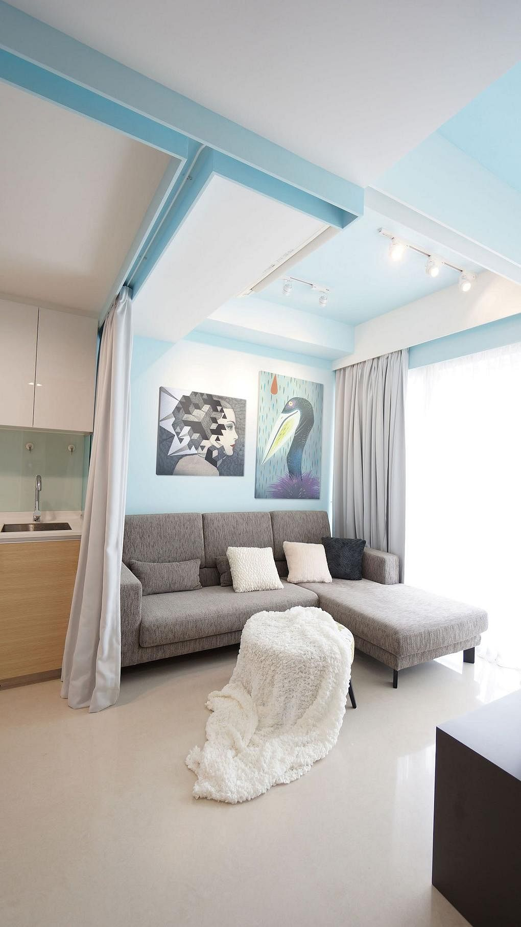 House Tour Clever Use Of Space In Singapore Shoebox Apartment By