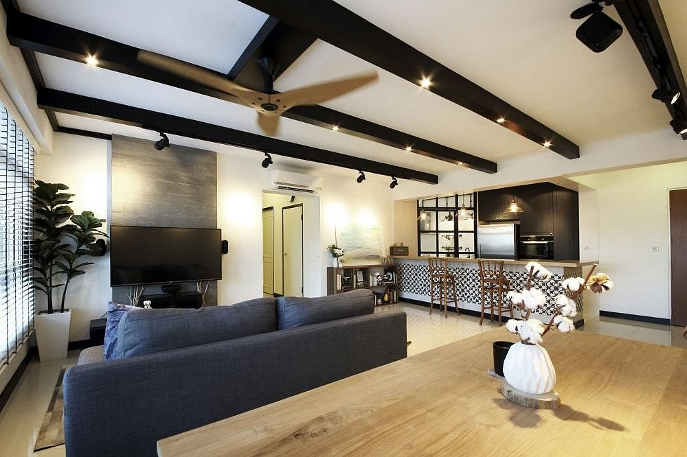 House tour five room bto hdb flat that mixes french and scandi inspired