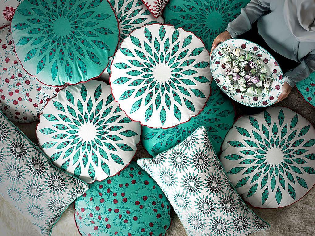 Shopping Ikea Hemmafest Arabic Art Inspired Tableware And