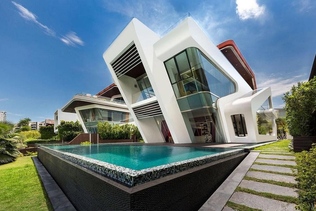 House Tour The Amazing 7320sqf Yacht House On Sentosa