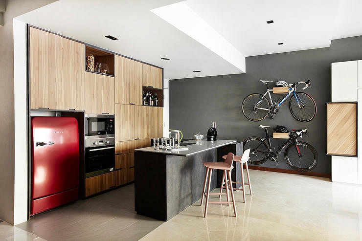 7 Integrated Kitchens That Combine Dining And Cooking Area