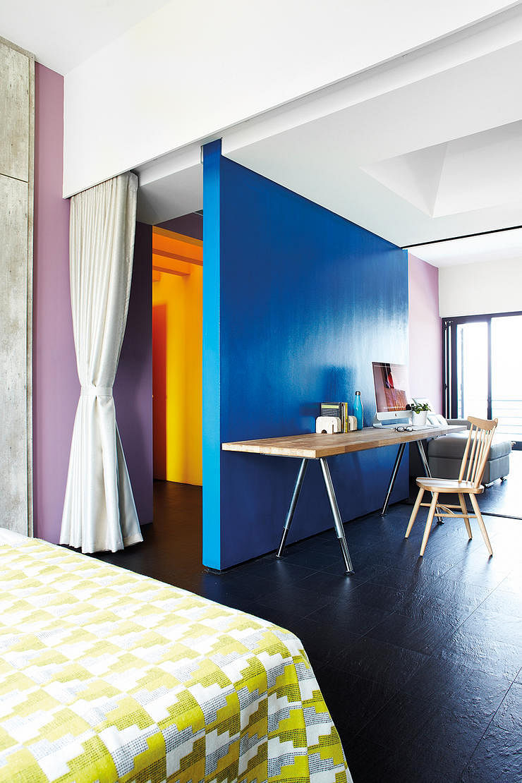 8 Colourful Homes See How The Homeowners Used Bold And Vibrant Colours Home Decor Singapore