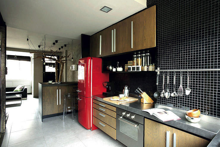 6 Homes That Incorporated The Iconic Smeg Fridge Home