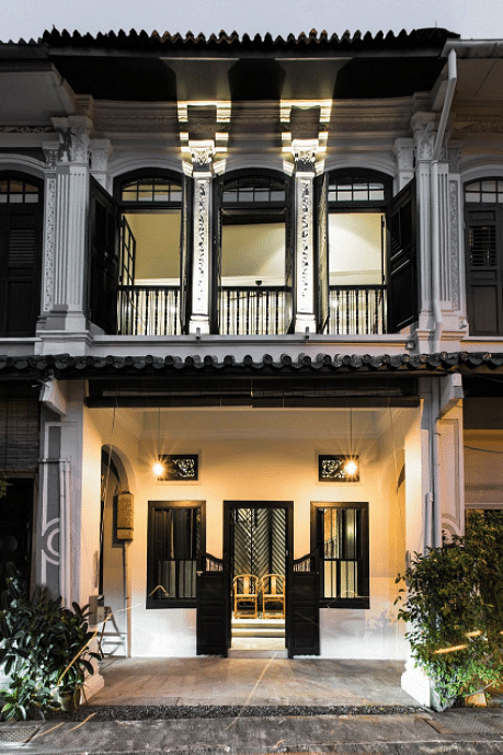 House Tour An Elegantly Restored Colonial Shophouse With