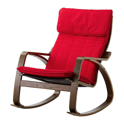 11 must have affordable furniture and accessories from ikea home decor singapore - Red poang chair ...
