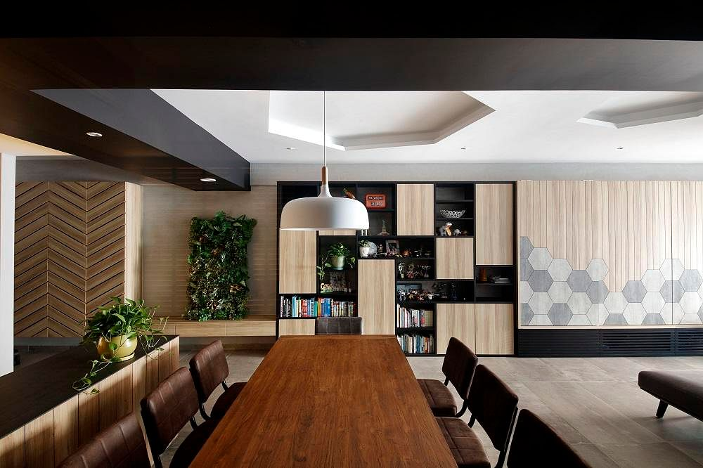 House Tour: Before And After Reno Of An HDB Flat With A Contemporary  Geometric Design