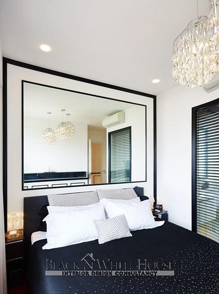 House Tour 3 Bedroom Condo In Bishan With A Classic Monochromatic Design Home Decor Singapore
