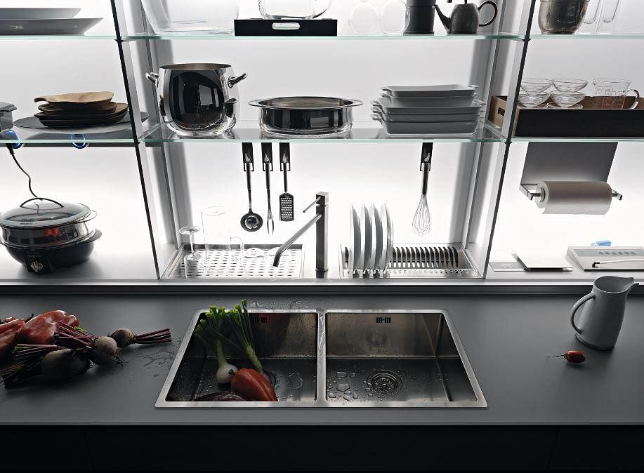 Renovation: Stylish and functional kitchen storage systems and furniture 14