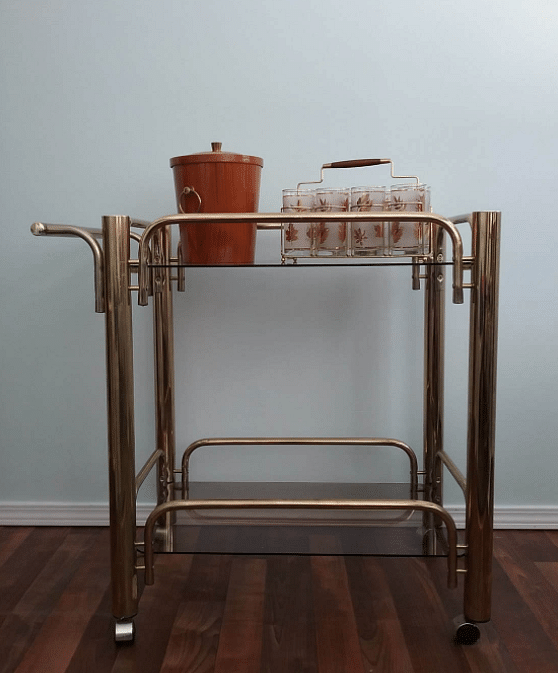 7 Stylish Bar Carts To Store Your Booze In Home Decor Singapore