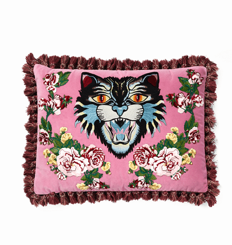 Object Of Desire Guccis Decorative Pillows