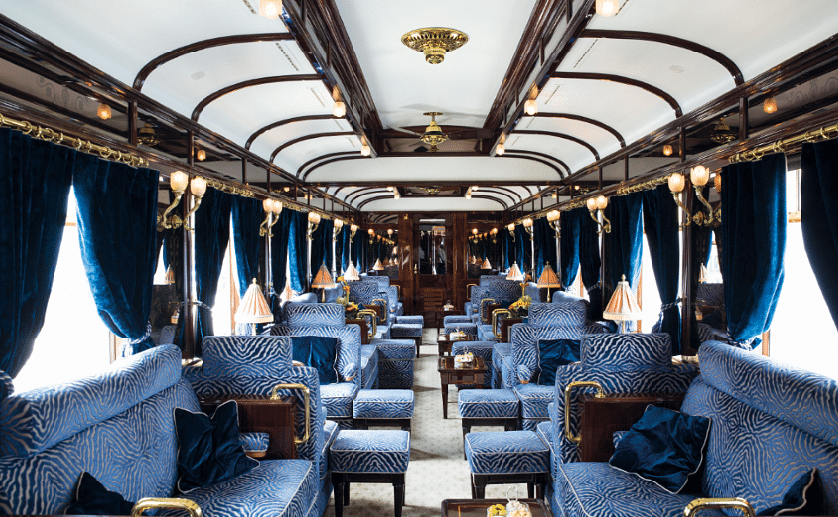This Luxury Train Cabin Probably Looks Better Than Your