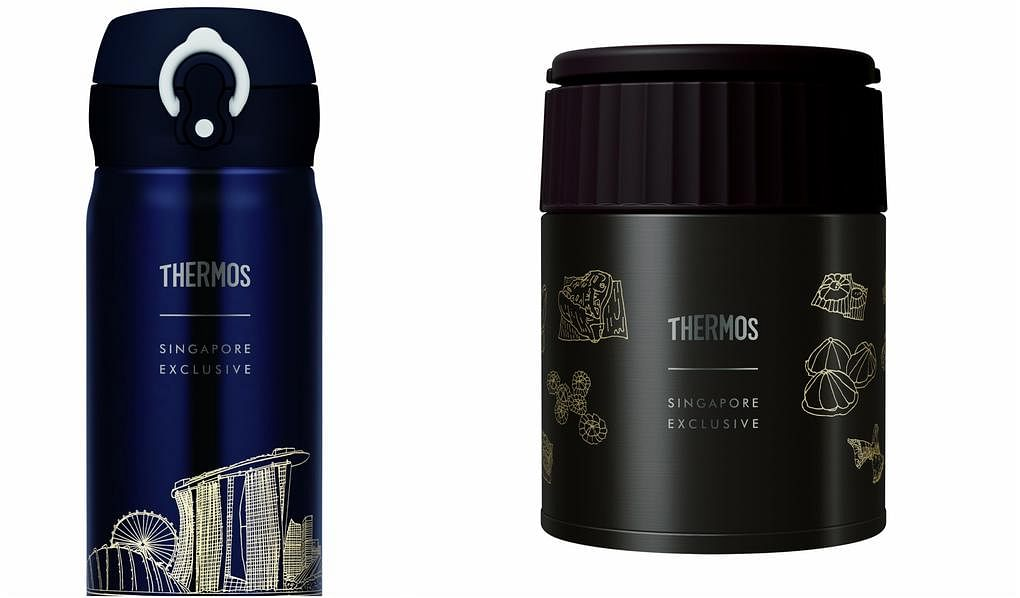 Thermos collage